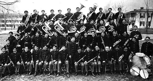 Carlisle Indian School Band
